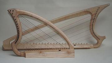 Simon Capp Gothic and Medieval harps.jpg