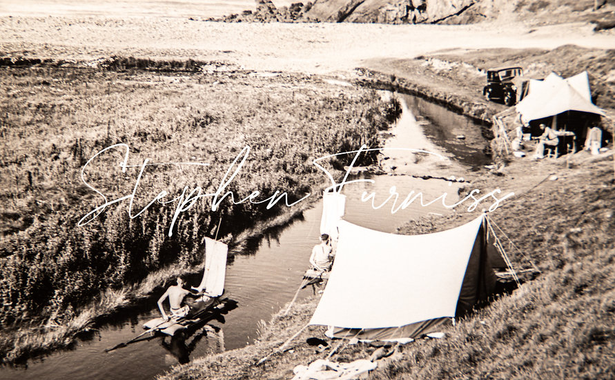 The Project Campsite 1930's