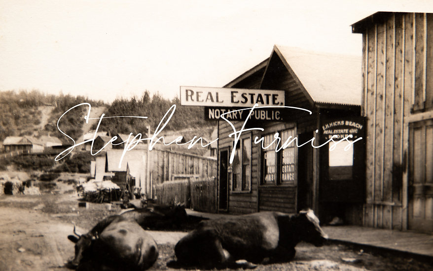 Canadian Pioneer Town c.1910