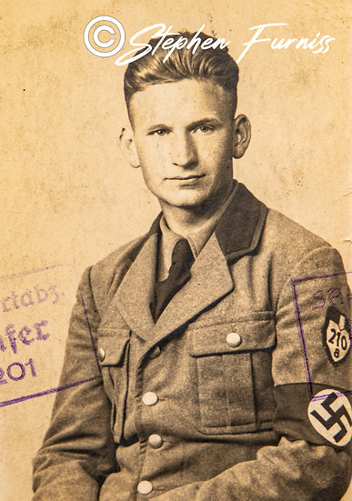 German Soldier WWII Portrait 1936