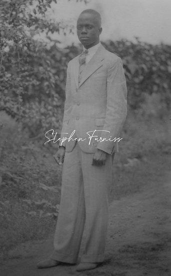 African Man 1934