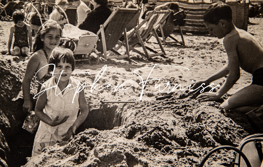 Sand Castle Builders 1950's