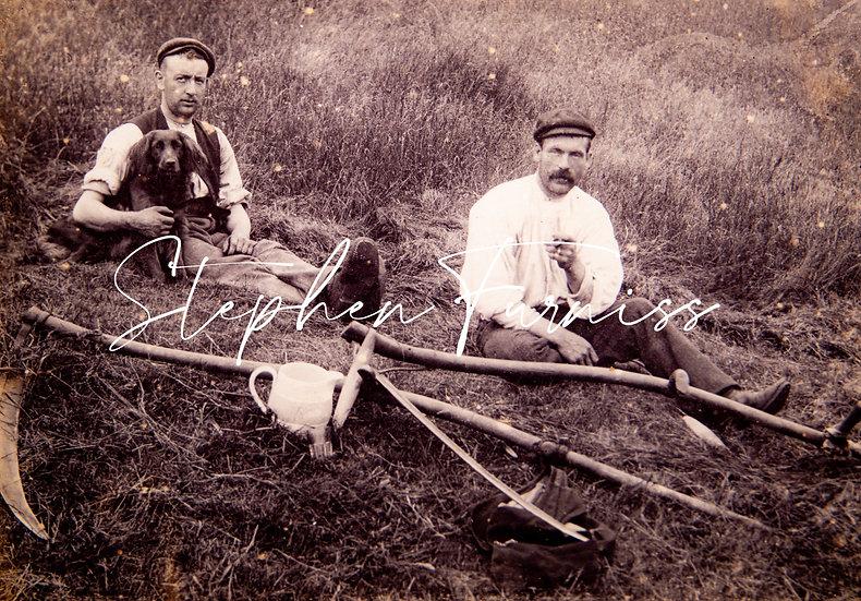 Having a break from work! 1900's