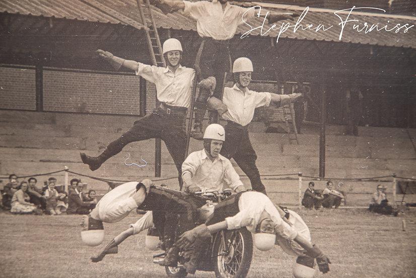 Motorcycle Display Team 1950's