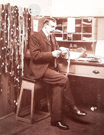 In the office 1905