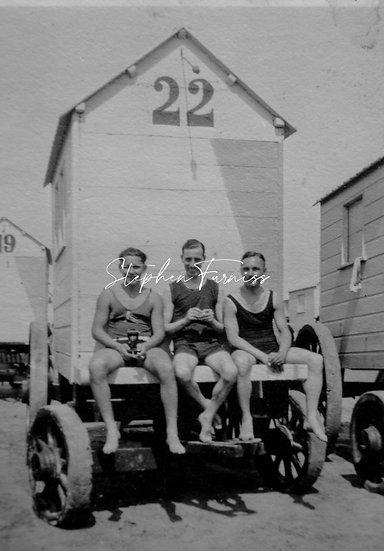 Lads on Holiday 1920's