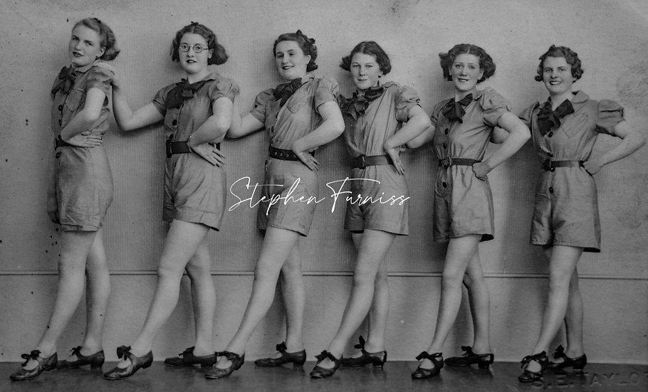 Four Dancers 1930's