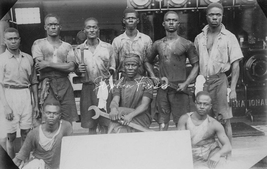 African Workmen 1930's