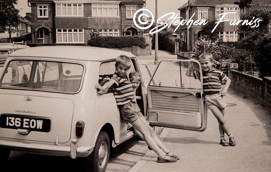 4 Minis! 1960's