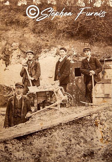 Chalk Quarrymen c.1890