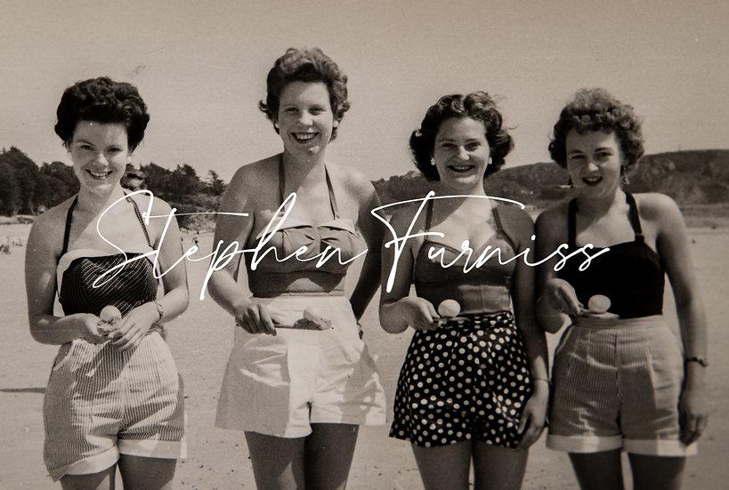 Beach games Jersey 1950's