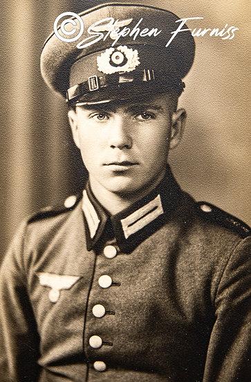 German Soldier WWII Portrait 1942