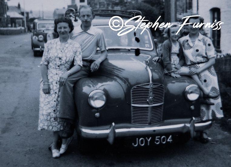 Austin A40 Devon 1950's