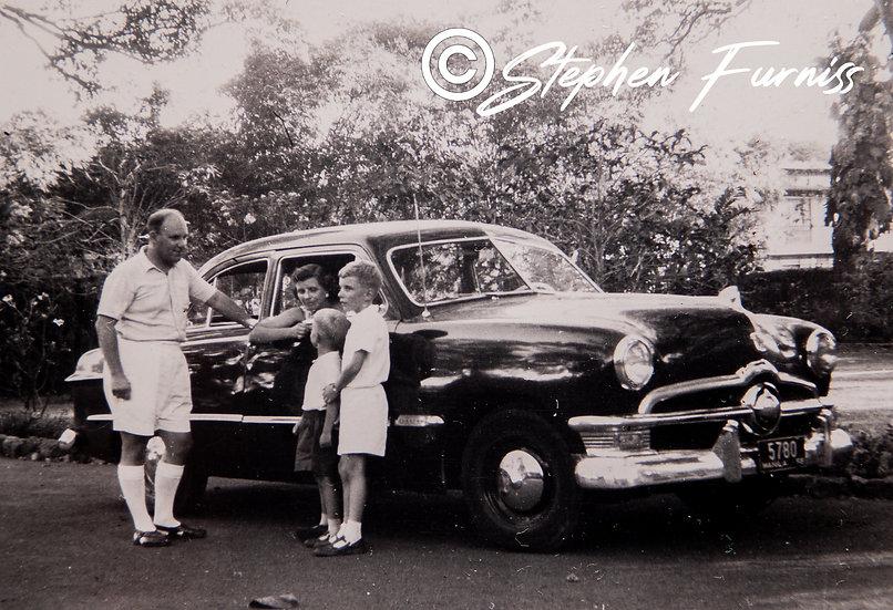 32 Horsepower V8 1950 Ford