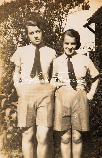 Women in Shorts and Ties! 1930's