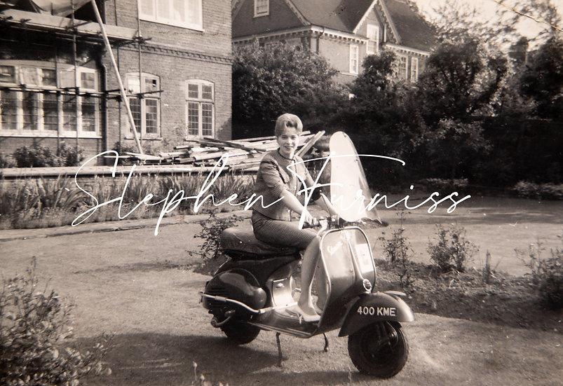 Vespa Scooter 1960