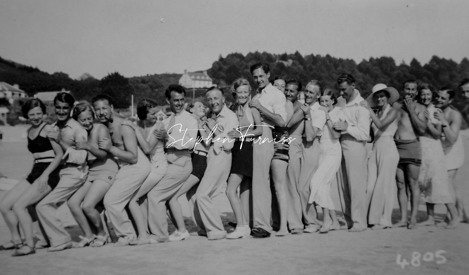 Holiday with Friends 1930's