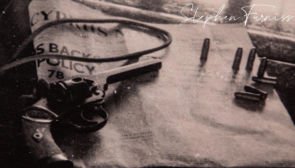 Gun & Bullets Cyprus 1950's