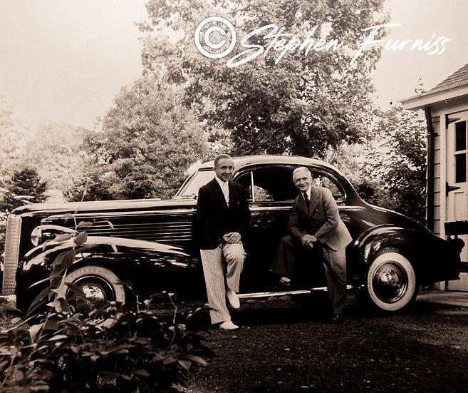 Streamlined Motoring America 1930's