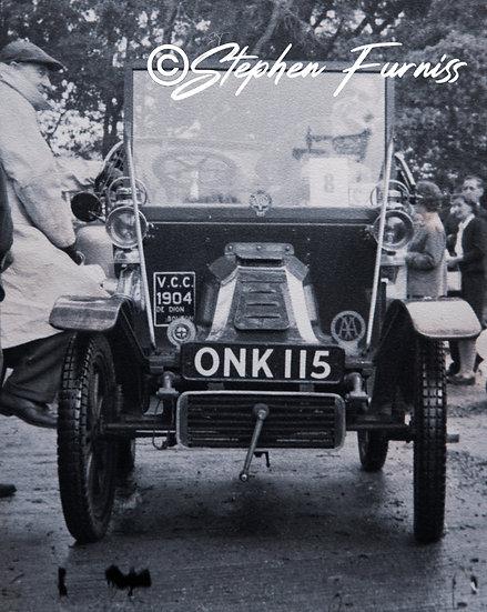 Veteren Car Run De Dion 1950's