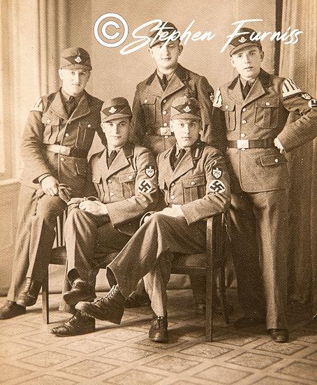 German Soldiers WWII Portrait