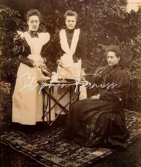 Serving Tea 1895