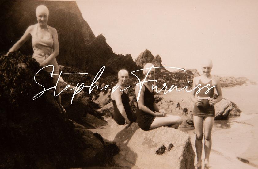 4 Bathing Belles 1930's