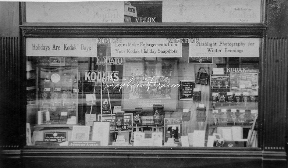 Camera Shop Front 1924