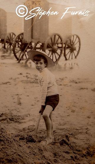 Beach Filey 1905