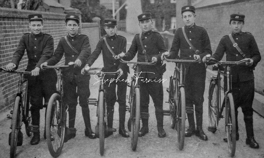 Boys and their Bikes!