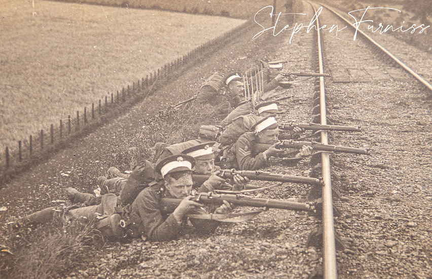 Guarding the Railway 1920's