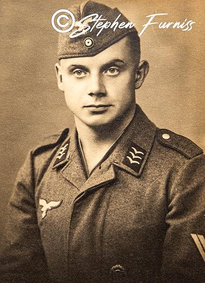 German Soldier WWII Portrait 1941