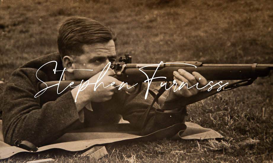 Man and his Rifle 1950's