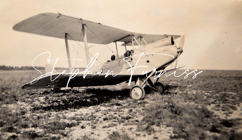 In a Aeroplane 1933