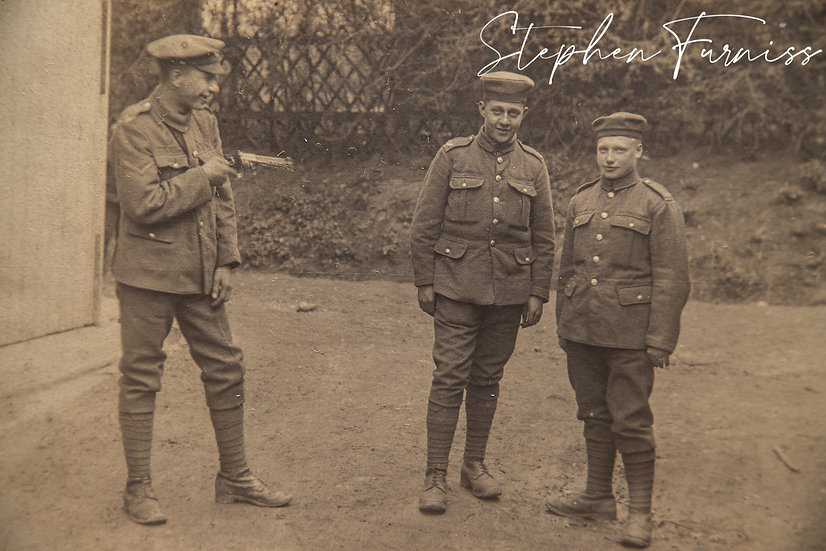 Fooling Around German WWI