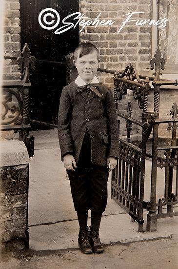 Down Syndrome Boy 1910