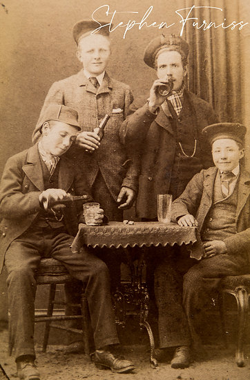 Juvenile Drinkers Aberdeen 1880