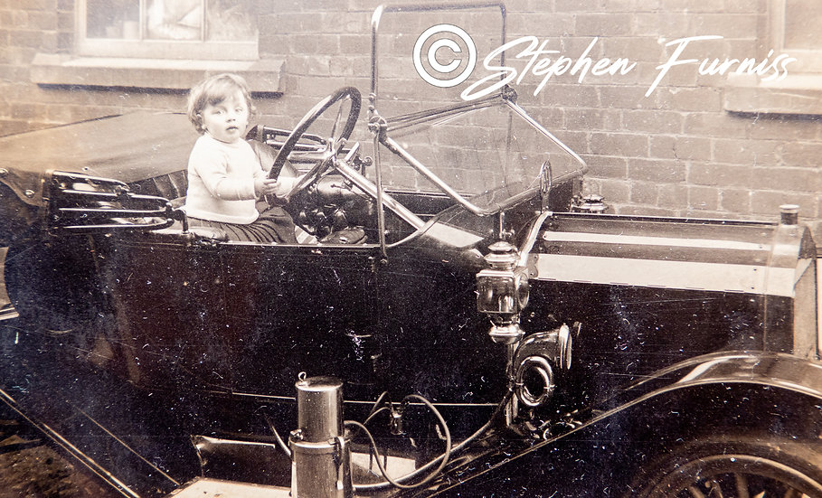 The Young Motorist 1920's