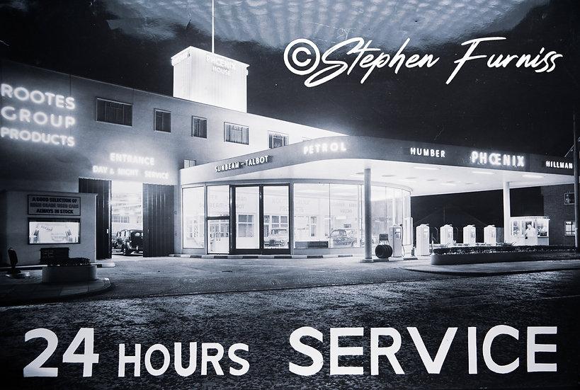 24 Hour Service! 1950's