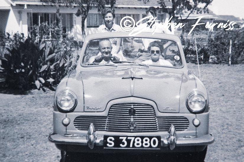 Ford Zephyr Drop Top 1950's