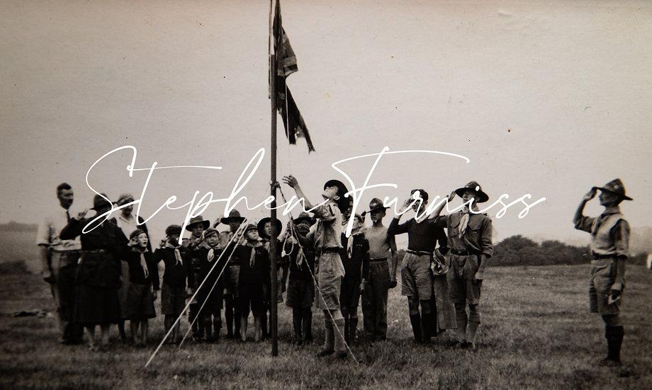 Saluting the Flag 1935