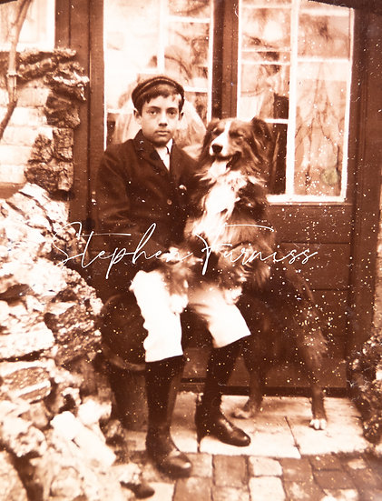 Boy and his Dog 1895