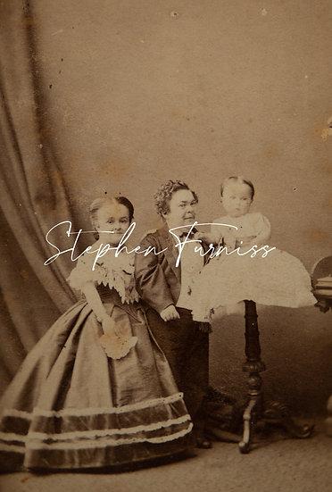Mr & Mrs Tom Thumb 1865