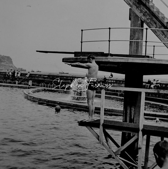 Diving Board! 1930's