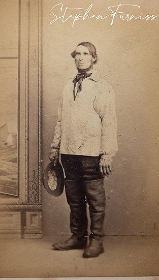 Fisherman Filey Yorkshire 1870's