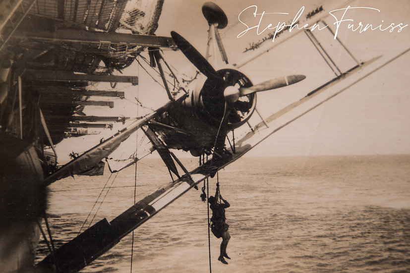 Aircraft Carrier Accident 1930's