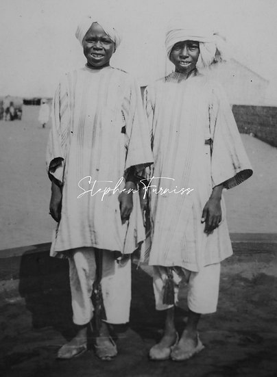 Two Young natives 1930's