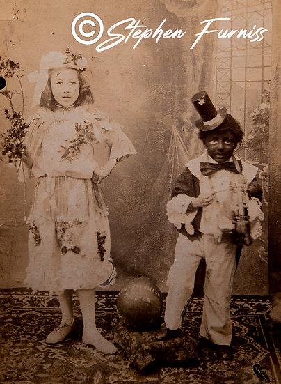 Fancy Dress Children 25th August 1908