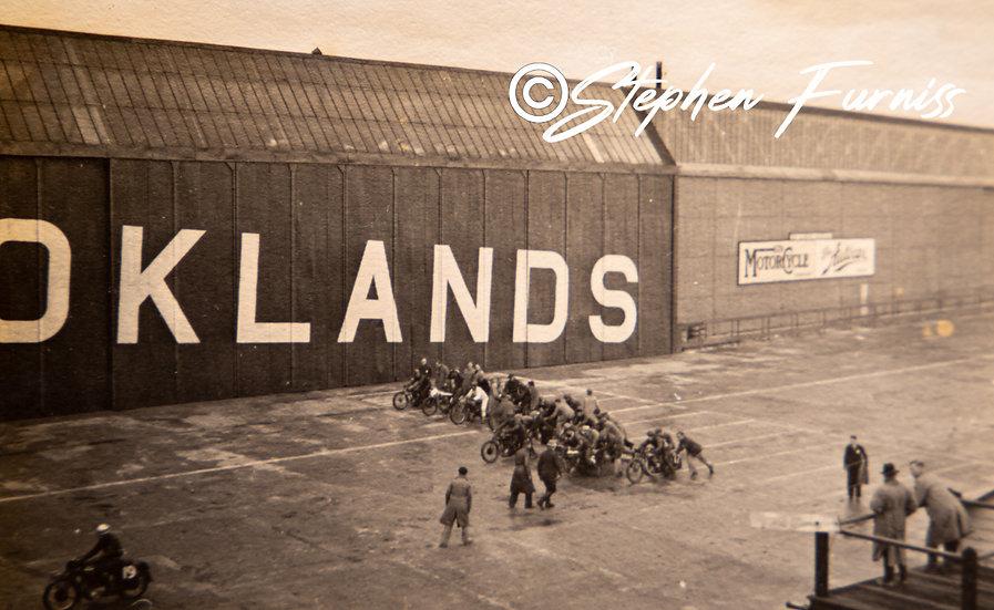 Brooklands Race Track 1936