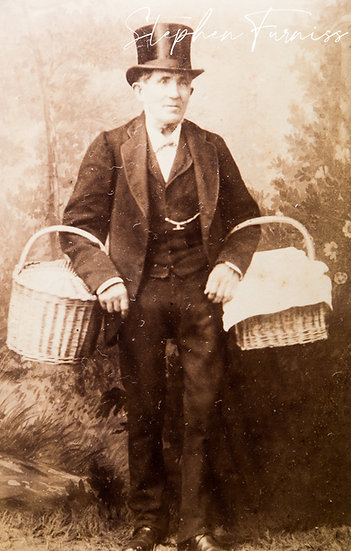 Man with Baskets 1880's